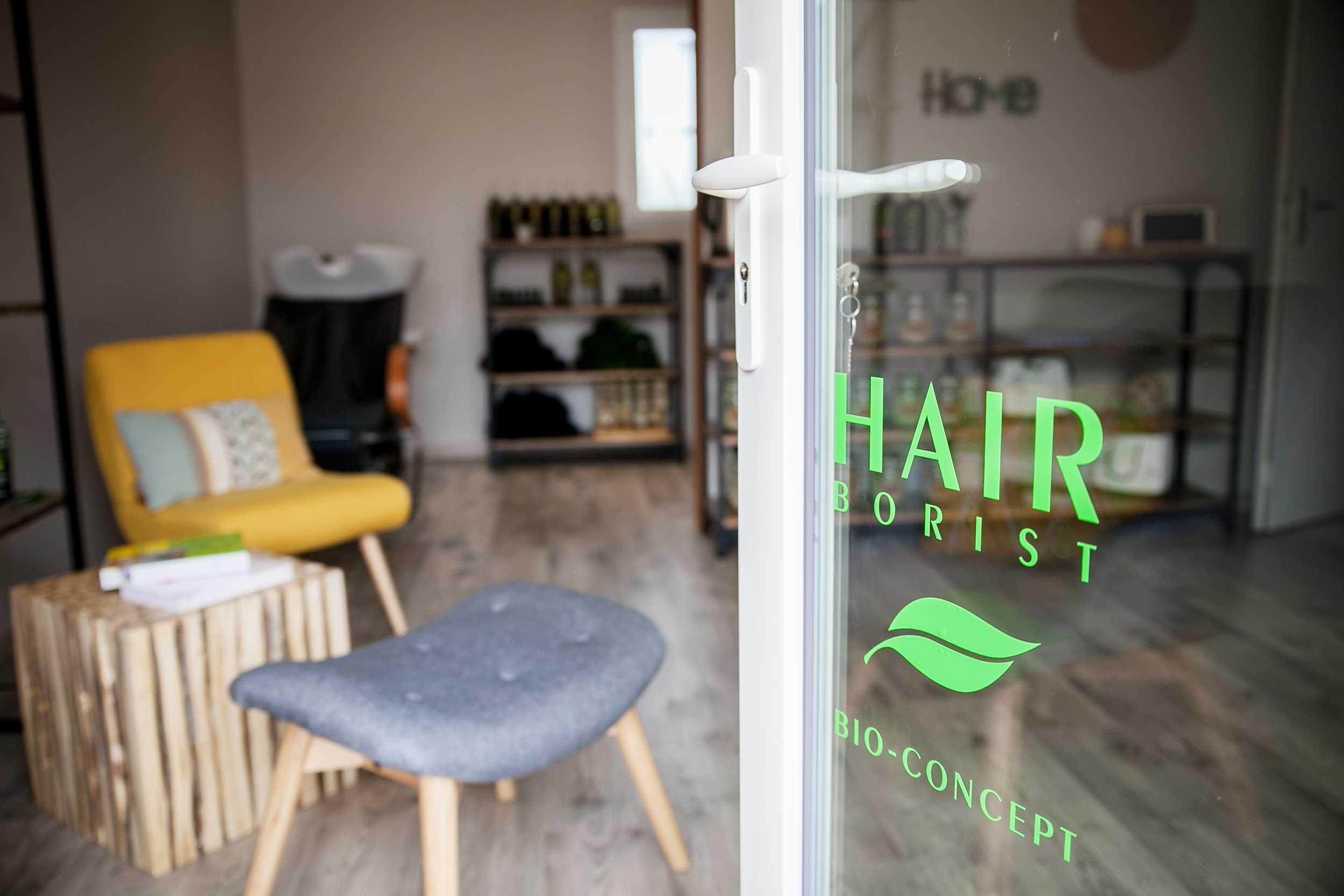 entree hairspa bio logo hairborist